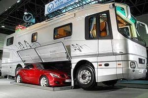 Bookofjoe Luxury Rv With Built In Garage
