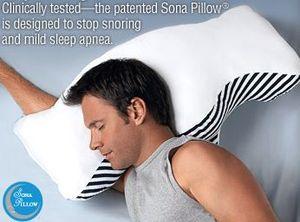 Bookofjoe Sona Anti Snoring Pillow