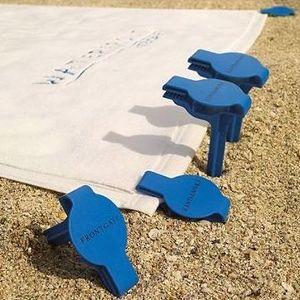 Bookofjoe Integrated Towel Anchor Beach Stake