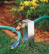 Movable Outdoor Faucet. Bbvbvnbvn