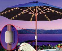 Cordless Patio Umbrella LED Lights. Hgbhgbjklhg