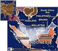 Indonesiahazemap