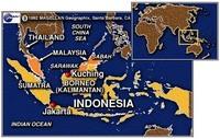 Indonesiamalaysiamap